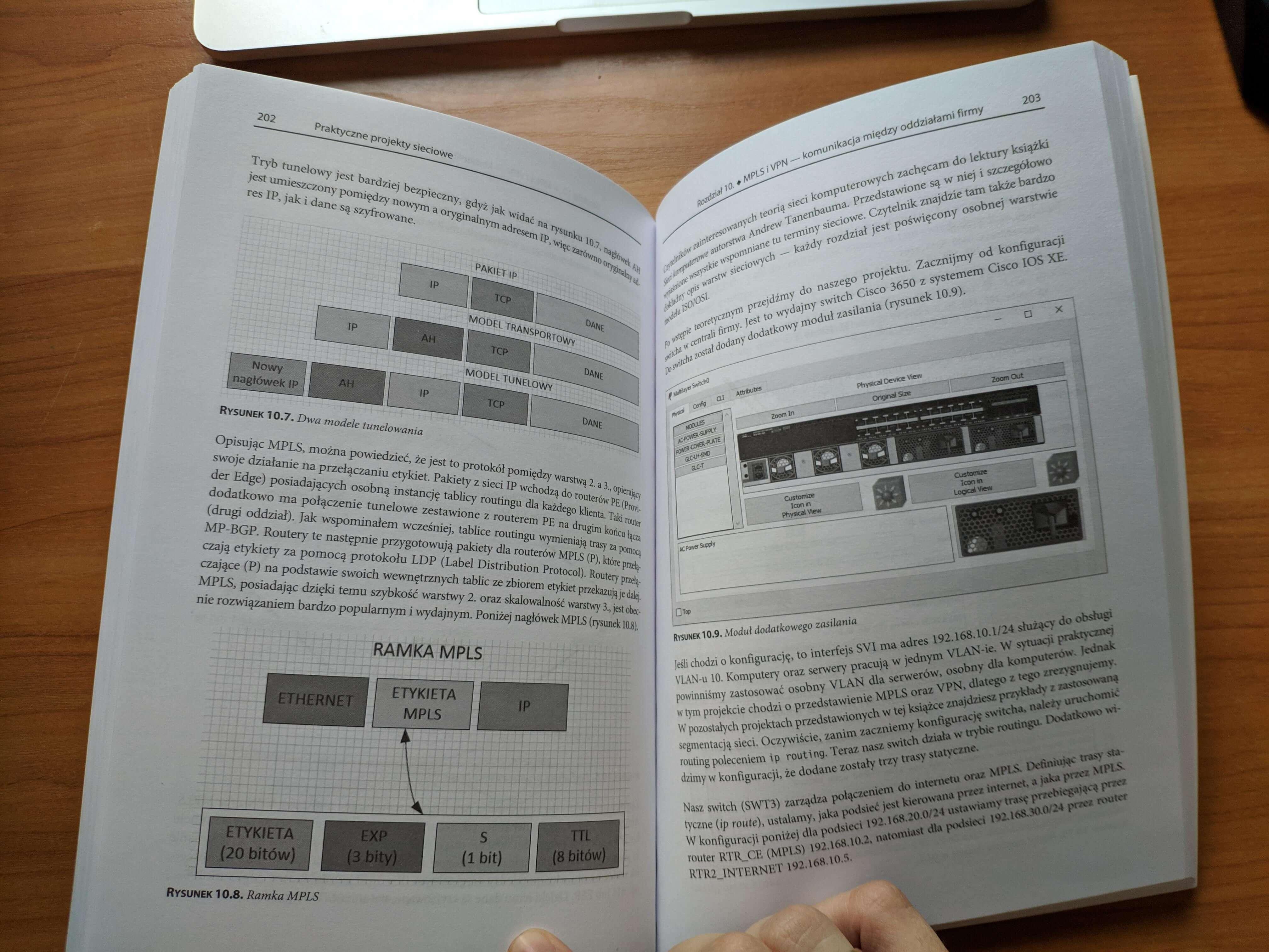 Praktyczne projekty sieciowe ramka mpls